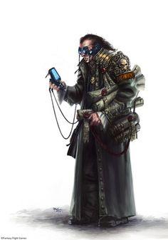 Adeptus Administratum - Civilian Life in Hive city - Necromunda - Warhammer 40K - GW  [by Ilacha]