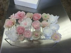 Wafer Paper Flower Bunches