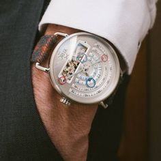 Fashion fades style is eternal XERIC SILVER HALOGRAPH AUTOMATIC LIMITED EDITION ft XERIC SAVILE ROW 24MM CHESTNUT RED TARTAN | Buy this watch here http://ift.tt/2lAmWq1