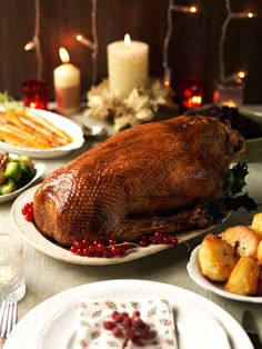Roast Gressingham Goose, photographed by Jemma Watts Photography for Gressingham Foods.