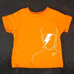 David Bowie Toddler Tee By Truly Sanctuary (FYI - these shirts are awesome but run SUPER small!)