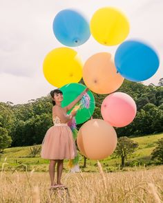 Love, Lil Concepts - For lovers of funfetti, cake, floral creations and DIY styling Giant Balloons, Pastel Palette, Ecommerce Hosting, Fashion Shoot, Big And Beautiful, Happy Birthday, Funfetti Cake, Concept, Photoshoot