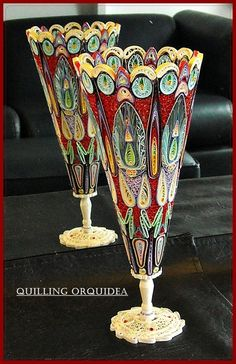 *The world of quilling has members. This is a group to share our love of quilling art and share your quilling projects with everyone! Paper Quilling Tutorial, Origami And Quilling, Paper Quilling Patterns, Quilled Paper Art, Quilling Paper Craft, Quilling 3d, Paper Crafts, Quilled Roses, Quilled Creations