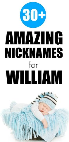 Check out these great nicknames for William. When you want something more fun or relaxed for your little boy, these nicknames are amazing. First Time Parents, New Parents, New Moms, Before Baby, After Baby, Mom And Baby, Baby Love, Nursing Tips, Baby Hacks