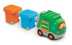 VTech Baby 80-187764 - Tut Flitzer - Müllauto und 2 Mülltonnen, grün: Amazon.de: Spielzeug