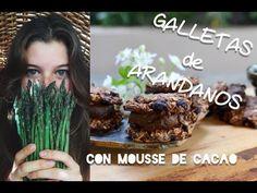 Galletas de Arándanos con Mousse de Cacao/Vegan Blueberry Cookies filled with cocoa mousse - YouTube