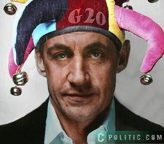 Sarkozy le Bouffon à grelots