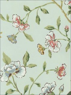 wallpaperstogo.com WTG-094497 Schumacher Traditional Wallpaper Go Wallpaper, Traditional Wallpaper, Schumacher