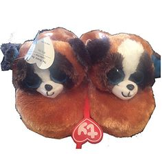 aa8dc98b046 We are proud to offer these Duke the Dog Beanie Boo slippers in small