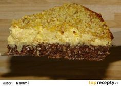 Tvarohovo-ovesný koláč s jablky recept
