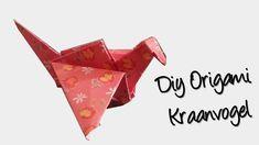 Hoe vouw je een origami geluks kraanvogel? stap voor stap