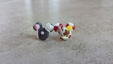 Ratatouille Mickey Mouse Inspired Earrings