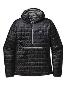 The updated Patagonia Men's Nano Puff® Bivy Pullover features PrimaLoft® Gold Insulation Eco for light, windproof, and warm protection from chilly bivies. Outdoor Outfit, Outdoor Gear, Patagonia Nano Puff, Patagonia Outdoor, Mens Fall, Sweater Weather, Vest Jacket, Trendy Outfits, Winter Jackets