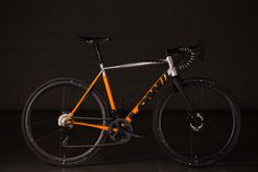 Continuing our discussion, or at least my rant about proper nomenclature with drop bar bikes today, Andrew Low brought this prototype disc road bike to the 2017 NAHBS. Designed to ride on sealed or di...