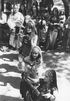 Snake dancers performing in Jamila Salimpour's Bal Anat belly dance troupe in the early 1970's. : Bal Anat   Flickr - Photo Sharing!