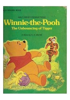 Walt Disney Productions Winnie-The-Pooh And The Unbouncing Of Tigger (1974, Hbk)