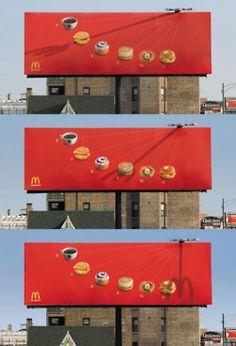 McDonald's timetable #publicidad #exterior #guerrilla