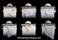 Origami con la carta igienica