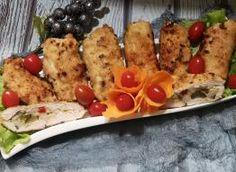 Sałatka Euforia - przepis ze Smaker.pl French Toast, Chicken, Meat, Breakfast, Food, Recipes, Morning Coffee, Eten, Recipies