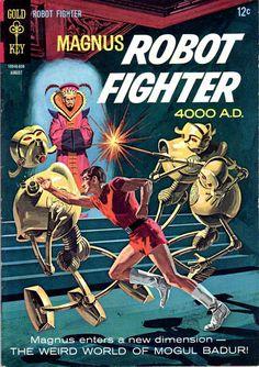 Magnus enters a new dimension - Magnus robot fighter