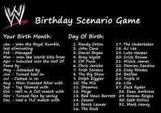 Had a TLC match with Triple H! What did you get?!