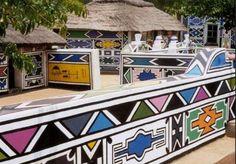 Ndebele house - Africa