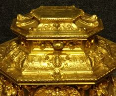 Outstanding French Gilt Bronze Table Jewellery Casket | 472430 | Sellingantiques.co.uk