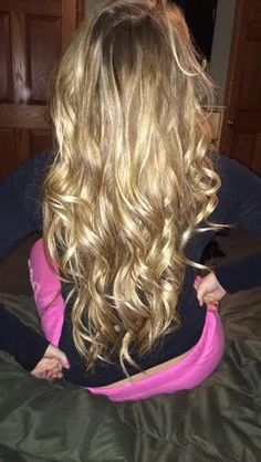 I have a head full of wavy/curly hair like this, I need to let it grow out!