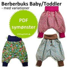 Småbørn Berberbuks, Symønster i PDF, str. 0-3 år - STOF og STUFF - kreativ livsstil | Stof, metervarer og tekstiler.