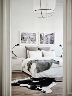 Interiors | White & Light Swedish Apartment