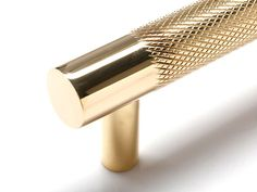 Diamond Knurled Pull is made from high-quality solid brass. Made in the USA to the highest quality standards. Brass Kitchen Handles, Kitchen Pulls, Kitchen Cabinet Hardware, Drawer Hardware, Knobs And Handles, Cabinet Handles, Door Handles, Gold Door, Small Modern Home