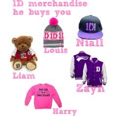 One direction preferences (1D merchandise he buys you) WE NEED THEM ALL!!!!! @marthagogoe