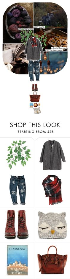 """""""Rainy Days"""" by stag-beetle ❤ liked on Polyvore featuring Chicnova Fashion, Black Rivet, Freebird, San Diego Hat Co. and Ralph Lauren"""