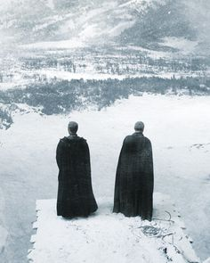 Stannis Baratheon and Davos Seaworth