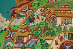 Symbolic Representation, Wheel Of Life, Wander, Buddha, The Outsiders, Symbols, Painting, Image, Art