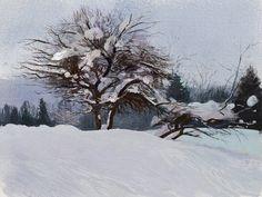 Winter, Tymoteusz Chliszcz on ArtStation at https://www.artstation.com/artwork/zr1Jd