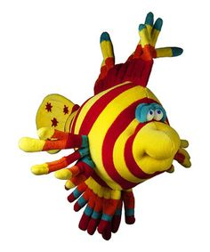 Another great find on #zulily! Funny Friends Tiger Fish Plush Mobile by Funny Friends #zulilyfinds