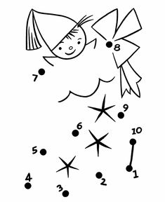 dot to dot shapes for preschool Connect The Dots Game, Dot To Dot Printables, Christmas Sheets, Beautiful Words In English, Hindi Language Learning, Dotted Drawings, Dotted Page, Kids English, Charts For Kids