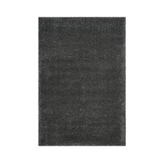 Santa Monica Shag Rug (3,905 CNY) found on Polyvore featuring home, rugs, dark grey, safavieh area rugs, patterned rugs, plush shag rug, safavieh rugs and dark grey area rug
