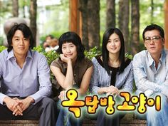 Attic Cat may be my favorite romantic comedy. I really liked the heroine (left middle). It's about a man who moves into a rooftop apartment with a woman to save money, and he falls in love with her while living with her. Because I liked Korean dramas so much, I subscribed to DramaFever for commercial-free viewing and a larger selection. This is the first drama I saw on DramaFever.
