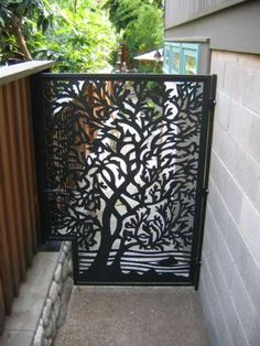 if we have a gate or an area where we want to do a large piece, I love this