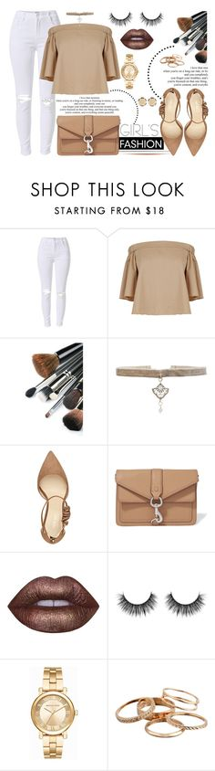 """Girl's Fashion"" by yurisnazalieth ❤ liked on Polyvore featuring TIBI, Natalie B, Nine West, Rebecca Minkoff, Lime Crime, Michael Kors, Kendra Scott and 14th & Union"