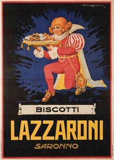 Giorgio Muggiani Biscotti Lazzaroni Saronno, 1928