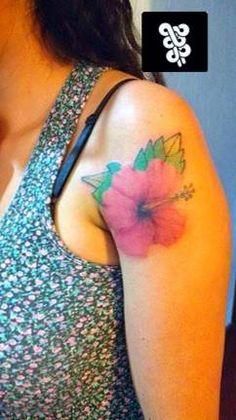 tatto flor hawaiana  citas y cotizaciones  whatsapp: 553273-6277 inbox: huascop