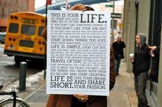The Holstee Manifesto    We wrote a manifesto but we never wrote a business plan.