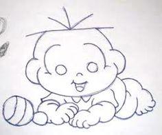 riscos infantil para pintura em tecido - Pesquisa Google