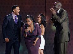 Oprah, Will Smith, Jada Pinkett Smith & Michael Jordan (all are people I admire)