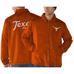 Texas Longhorns Head Coach Full Zip Jacket - Burnt Orange - $32.99