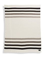 Millennium Stripe Cotton Knit Blanket
