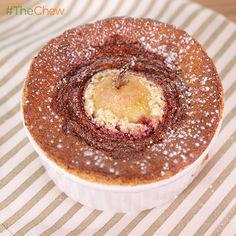 Pear Amaretto Soufflé by Carla Hall. #TheChew #Dessert